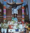 El Cristo de la Exaltación del vecino poblado de Citilcum, que a mediados de noviembre visita la iglesia de San Agustín.