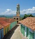 """El Bolero espirituano tiene base en """"Pensamiento"""" de Rafael Gómez """"Teofilito"""". Postal de Sancti Spiritus, Cuba."""