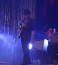 Erick Flota, experimentado guitarrista yucateco, reconocido por su amplia trayectoria musical esta noche del 27 de diciembre