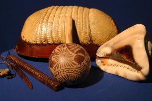 La coraza del armadillo es utilizada como instrumento musical