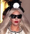 Gaga's Workshop Ribbon Cutting with Lady Gaga at Barneys New York on November 21, 2011