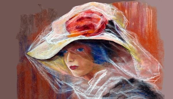 Sombrero y Flores Rojas bajo el Sol_1