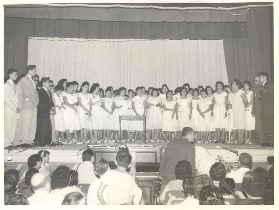 Generación de Profesores 1959 de la Escuela Normal Rodolfo Menéndez de la Peña.