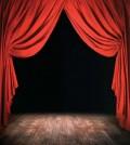 Empty Stage --- Image by © William Whitehurst/CORBIS