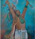 """Paz, anhelo universal"" Obra pictórica del Mtro.  Manuel Lizama Salazar.  Yucatán"