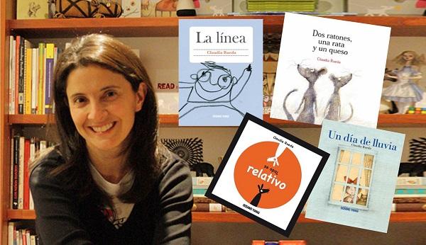 Claudia Rueda es una talentosa autora e ilustradora colombiana que se ha convertido en una de las estrellas de este sello.