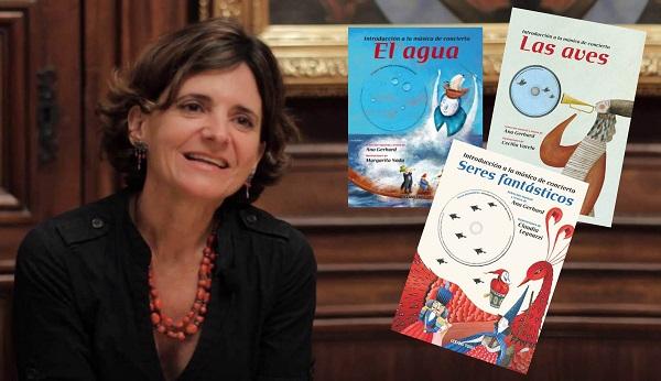Ana Gerhard es la responsable de la colección 'Introducción a la Música de Concierto', que lleva ya tres libros publicados.