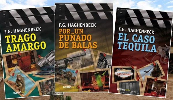 'Trago Amargo', 'Por Un Puñado de Balas' y 'El Caso Tequila' conforman la colección de aventuras de Sunny Pascal, de quien pronto tendremos una cuarta novela: 'Hora Feliz para un Hombre Muerto'.