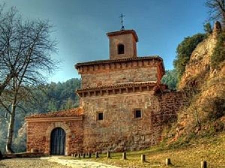 Monasterio del Suso. - -Los de arriba-.