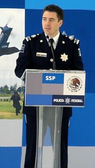 Luis Cárdenas Palomino, policía del régimen calderonista. Tomada de Wikipedia.