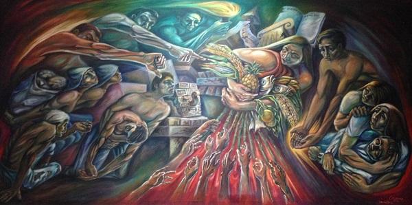 """Injusticia"", del Mtro. Manuel Lizama S."