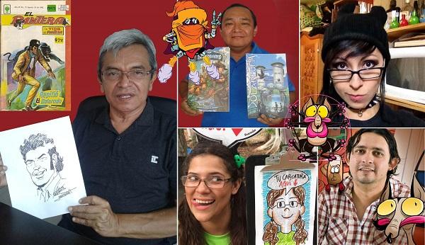 Alberto Maldonado, Juan Fleites, Raven Bazán, La Jadeita y Sergio Nei son algunos de los artistas participantes en esta fiesta del dibujo.
