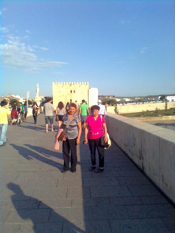 Puente Romano sobre el Guadalquivir.