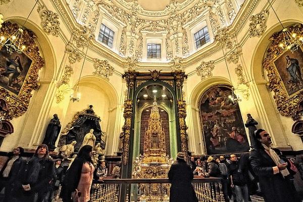 Capilla del Tesoro de la Mezquita Catedral de Córdoba