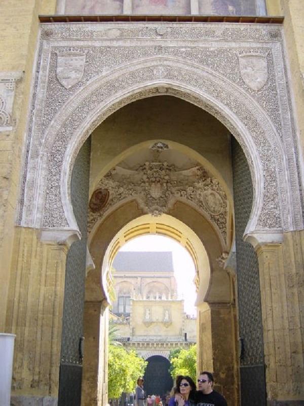 Puerta del Perdón de la Mezquita de Córdoba.
