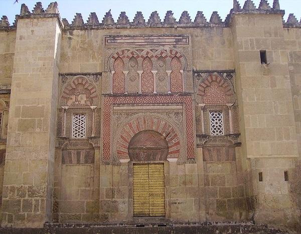 Puerta de San Ildefonso de la Mezquita de Córdoba.