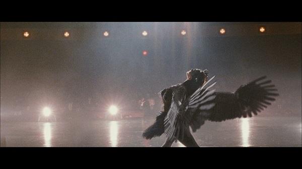 """Al transcurrir la cinta, Nina alucina cada vez más: se ve con plumas negras saliendo de sus heridas; se está convirtiendo sin saberlo en el """"cisne negro"""", con todo lo que eso representa."""