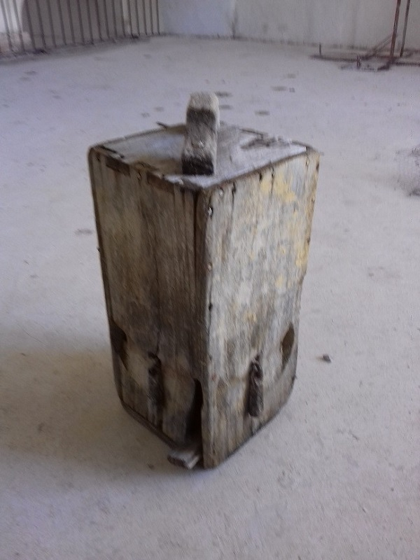 La matraca. Primitivo instrumento musical que solo se utiliza los Viernes Santos.