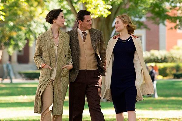 Rebecca Hall (Elizabeth), Luke Evans (Marston) y Bella Heathcote (Olive)