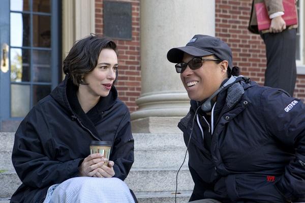 Rebecca Hall y la directora Angela Robinson.