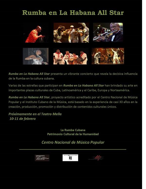 Rumba en La Habana All Star Promocional