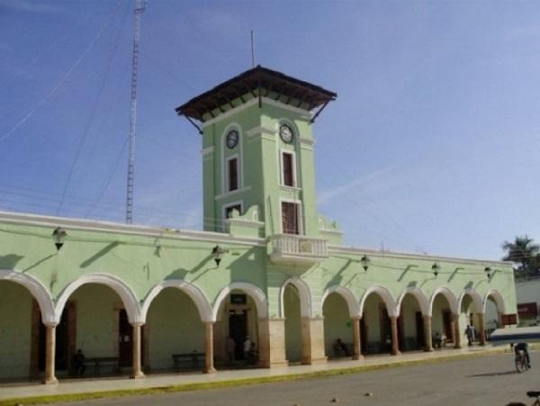 Palacio Municipal de Maxcanú, Yucatán.
