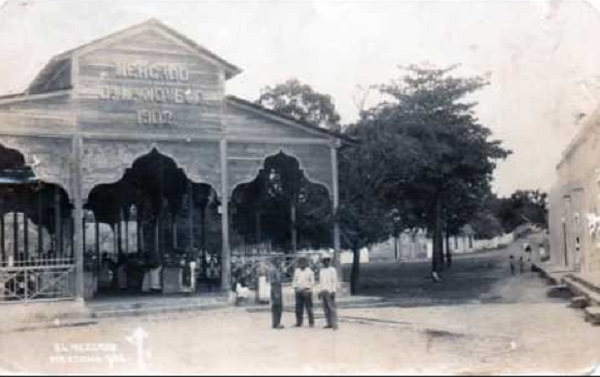 El viejo mercado.