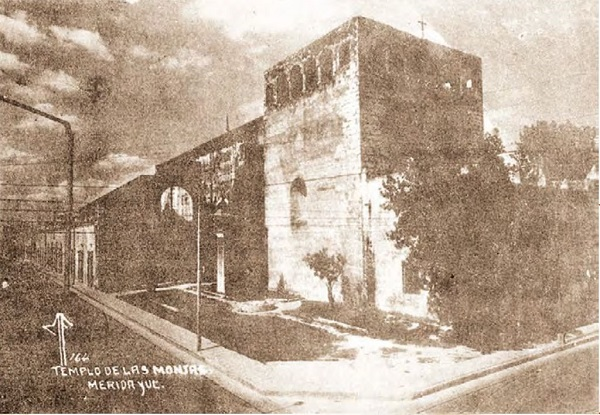Mirador del Ex convento de Monjas Concepcionistas. http://www.meridadeyucatan.com/wp-content/uploads/2013/11/templo-monjas.jpg