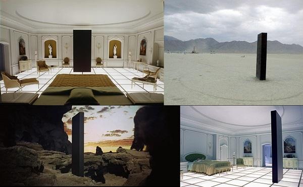 El monolito es una pieza clave en el desarrollo de la trama de la genial película '2001: Odisea del Espacio'.