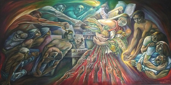 """""""Injusticia"""", del Maestro Manuel Lizama (1971)."""