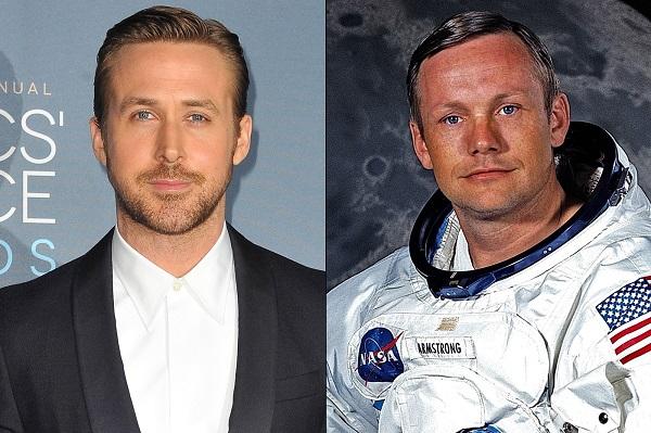 """Ryan Gosling interpreta a Neil Armstrong en """"El primer hombre en la Luna."""""""