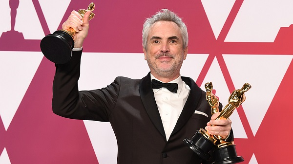 Photo by Andrew H. Walker/BEI/REX/Shutterstock (10117224em) Alfonso Cuaron - Director, Orignal Screenplay and Cinematography - 'Roma' 91st Annual Academy Awards, Press Room, Los Angeles, USA - 24 Feb 2019