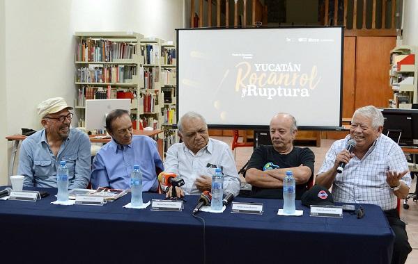 """El conversatorio """"Yucatán, Roncanrol y Ruptura"""" se efectuará el próximo viernes 29 de marzo a las 20 hrs. en el jardín del Museo Fernando García Ponce-Macay."""
