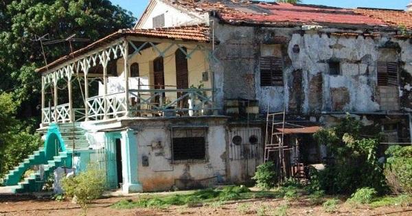 La casa natal de dulce María, hoy en ruinas. FUENTE: cibercuba.