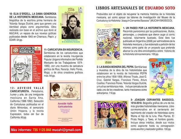 libros artesanales de eduardo soto temas de historieta mexicana 01 (1)