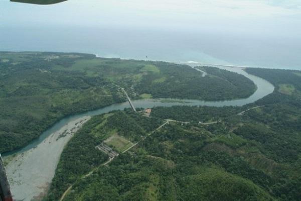 El Río Toa, una de las reservas fluviales que abundan en la isla de Cuba.