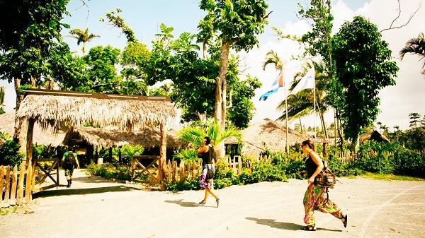 Rancho Toa ubicado en Cuba cerca del rio del mismo nombre.