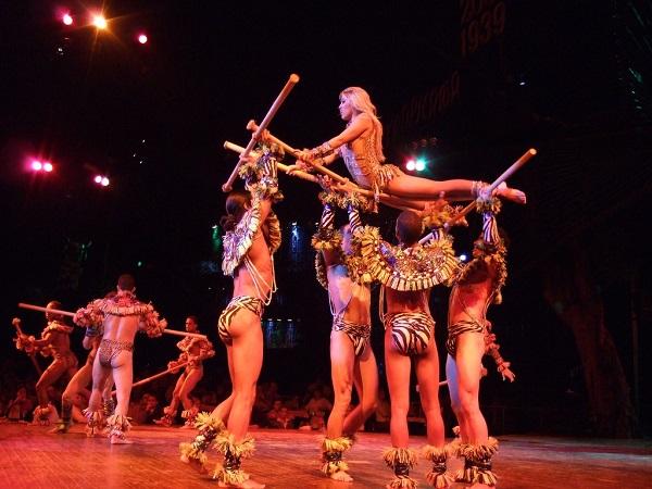Tropicana es uno de los mejores cabarets del mundo.