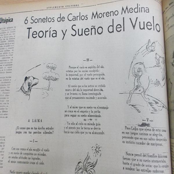 CMM Teoría y sueño del vuelo 6 sonetos