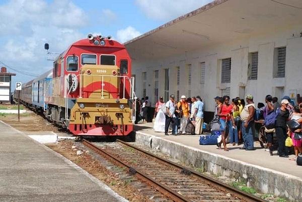 Ferrocarriles en Cuba.