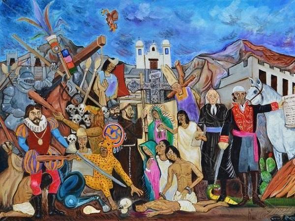 Breve tratado pictórico de la Historia de México / Por KINKIN / AHGA.